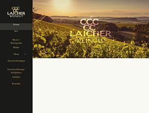Weingut Laicher | WEINE | OBSTBRAENDE | PRÄSENTE | BESENWIRTSCHAFT | UNTERKUNFT