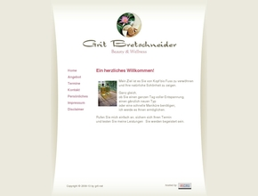 Wellness & Beauty - Grit Bretschreider