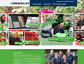 Wolff GmbH & Co. KG | Baumarkt | Elektroartikel | Werkzeuge | Holz & Farbe