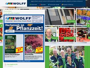Wolff GmbH & Co. KG Gartenmarkt | Baumarkt | Technischer Handel