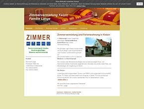 Zimmervermietung in Ketzin - Fam. Lange